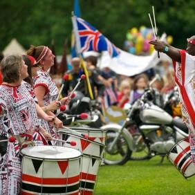 Parade Contingent - Queen's Diamond Jubilee 2012