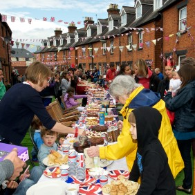 Victoria Road Street Party - Queen's Diamond Jubilee - June 2012