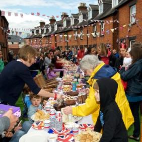 Victoria Road Street Party - Queen's Diamond Jubilee - June 2012