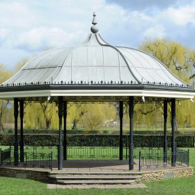 Godalming Bandstand Photo courtesy of Darren Pepe 2016