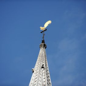 Weathervane on Ss Peter & Paul Church, Godalming Photo courtesy of Darren Pepe 2016