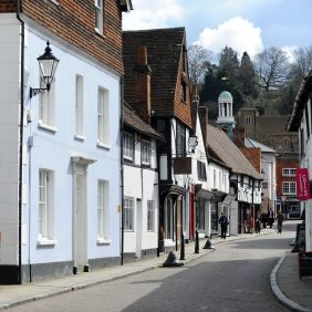 Church Street, Godalming Photo courtesy of Darren Pepe 2016
