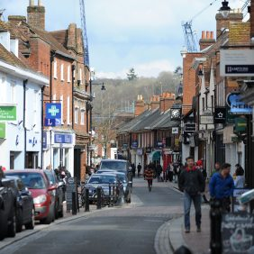 Godalming High Street Photo courtesy of Darren Pepe 2016