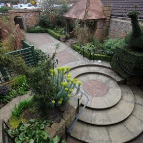 Godalming Museum Garden Photo courtesy of Darren Pepe 2016