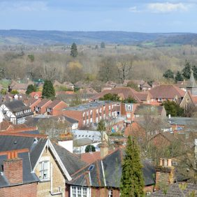 View of Godalming from Shadyhanger Photo courtesy of Darren Pepe 2016