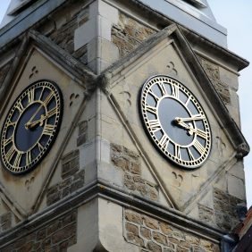 Clock Town at Farncombe Day Centre Photo courtesy of Darren Pepe 2016