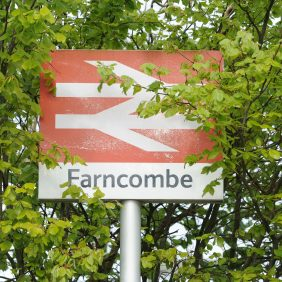 Farncombe Station Photo courtesy of Darren Pepe 2016