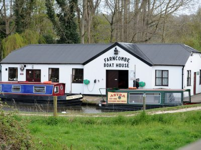 Farncombe Boathouse Photo courtesy of Darren Pepe 2016