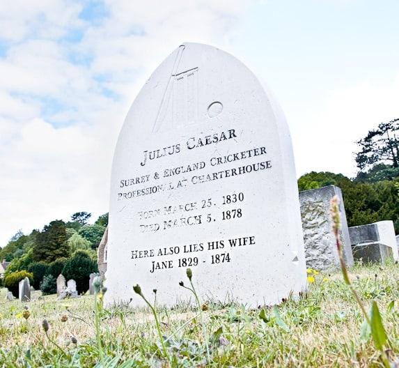 Nightingale Cemetery, The Grave of Julius Ceasar