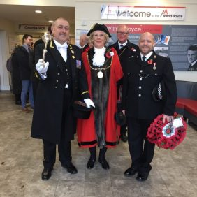 Mayoral Party - Remembrance Sunday 2019