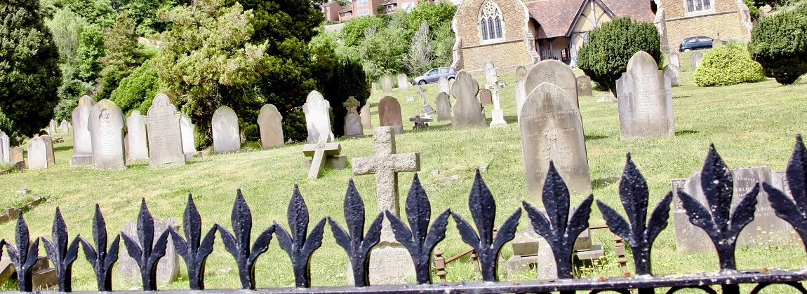 Nightingale Cemetery Railings