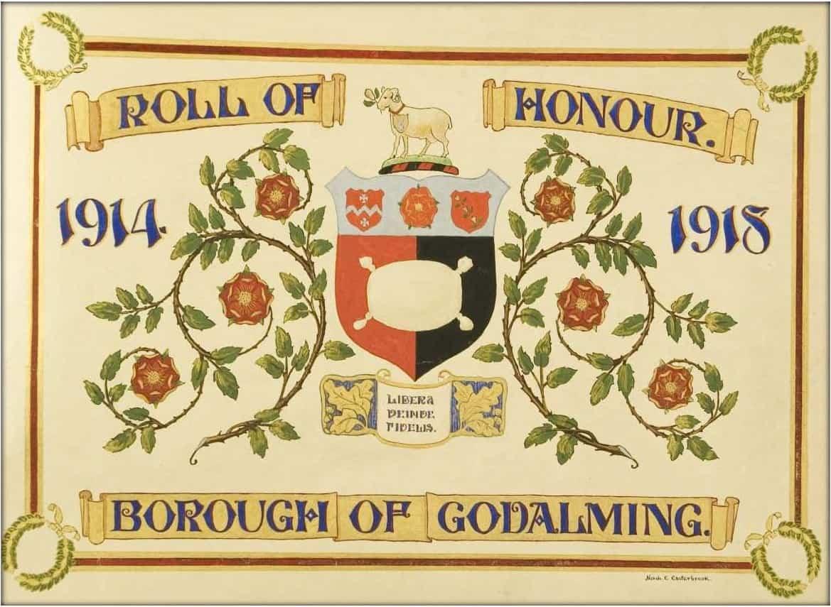 Godalming of Roll of Honour