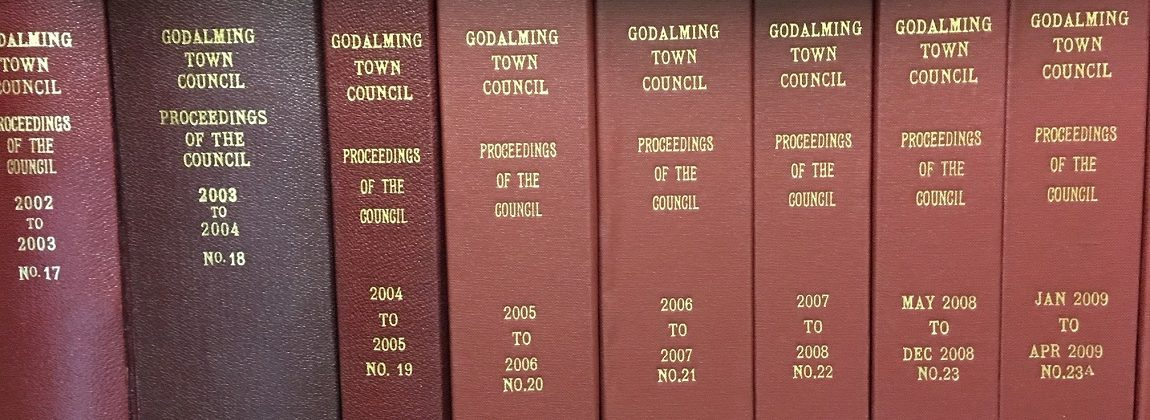 Godalming Town Council Minute Books