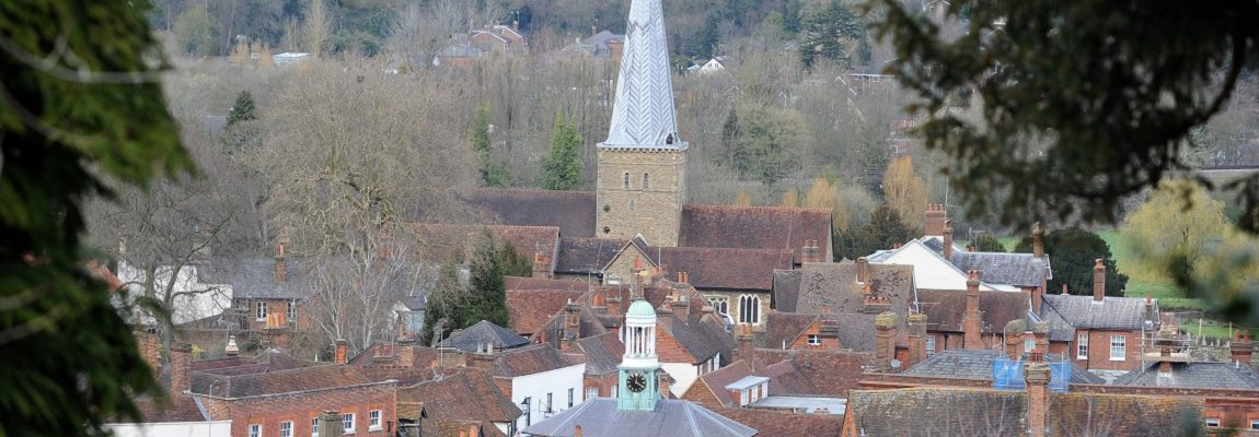 Godalming Rooftops & Church