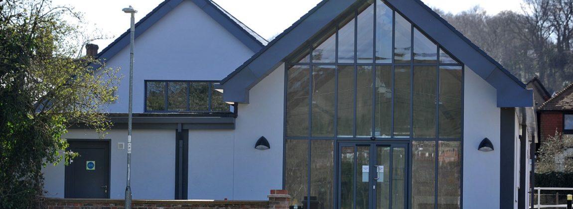 Wilfrid Noyce Centre Main Entrance
